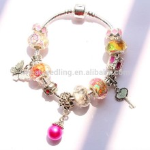 wholesale colorful graduation gift stainless steel jewelry dainty jewelry bracelet