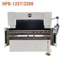 Prensa plegadora hidráulica NC para trabajo de metales