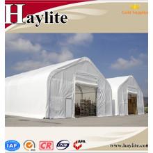 Grande tente de stockage de haute qualité utilisée abri extérieur
