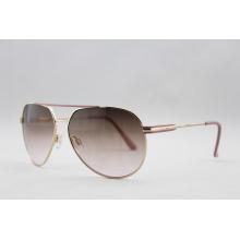 Óculos de sol Hot Fashion Metal Women com BSCI Audit (14126)