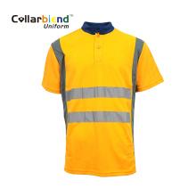 Camisas polo reflexivas Hi Vis Orange Safety