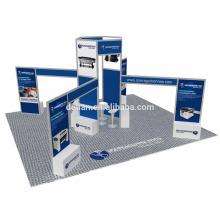 L'exposition de Detian 20x20ft exposent la fabrication de stalle d'exposition utilisée cabines de salon