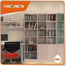 Grande bibliothèque en bois moderne de grande durabilité
