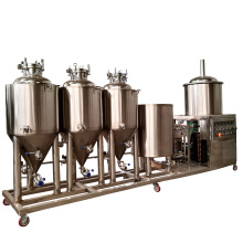 50L-100L All in one home brewery/50 liters beer brewing equipment