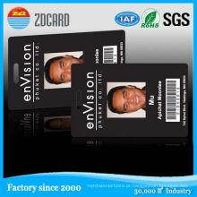 Cartão plástico da identificação do estudante de Smart Card / cartão da identificação com foto
