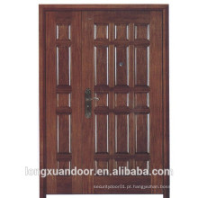 Porta de entrada principal, porta de segurança à prova de fogo, porta de entrada de fogo