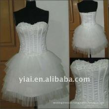 JJ2512 Drop shipping Sweetheart Sexy Short Wedding dress