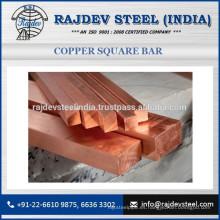 Exclusiva gama de alta calidad de cobre barra cuadrada disponible en tamaño compacto