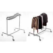 Steel Rack Garment Stand Cloth Round Tube Display (GDS-102)