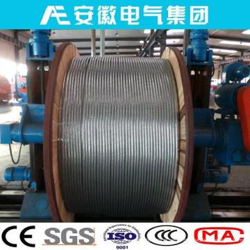 Raven / Aw, ACSR / Aw, conducteur en aluminium acier plaqué en aluminium pris en charge