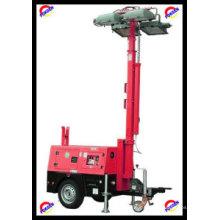 Torre de luz de generador diesel móvil (POK10LT)