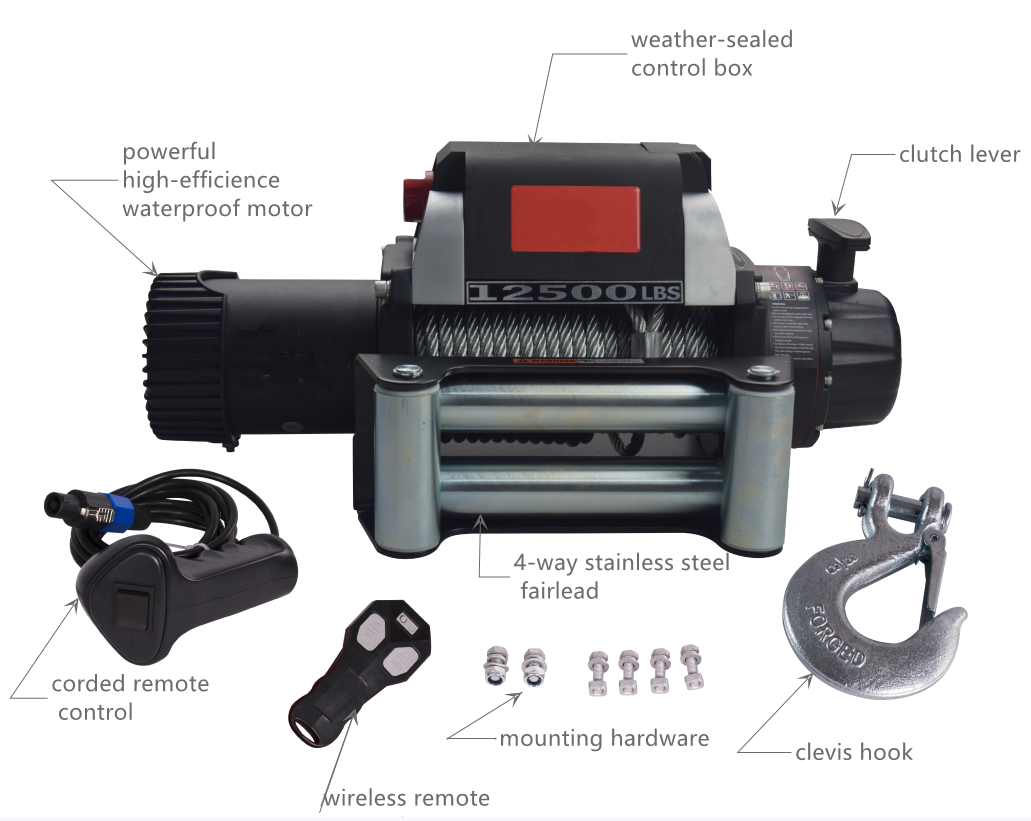 Top quality Electric Winch