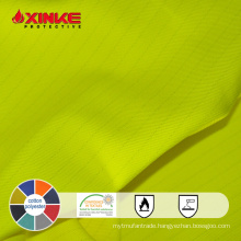 Passed EN471 high visibility fabric for safty vest