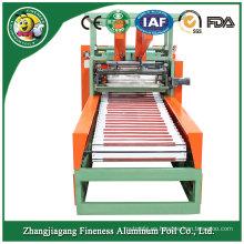 Máquina de rebobinado caliente del papel de aluminio del descuento de la venta Taw