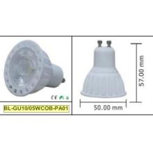 Projecteur LED 5W GU10 COB