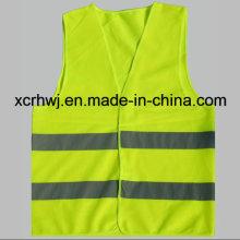 Reflektierende Sicherheit Gelb Reflektierende Weste, Orange Reflektierende Weste, Verkehrssicherheit Westen, Fahrbahn Sicherheit Weste Lieferanten