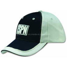 High Quality Wholesale Cotton Twill Sports Cap with Contrast Mesh