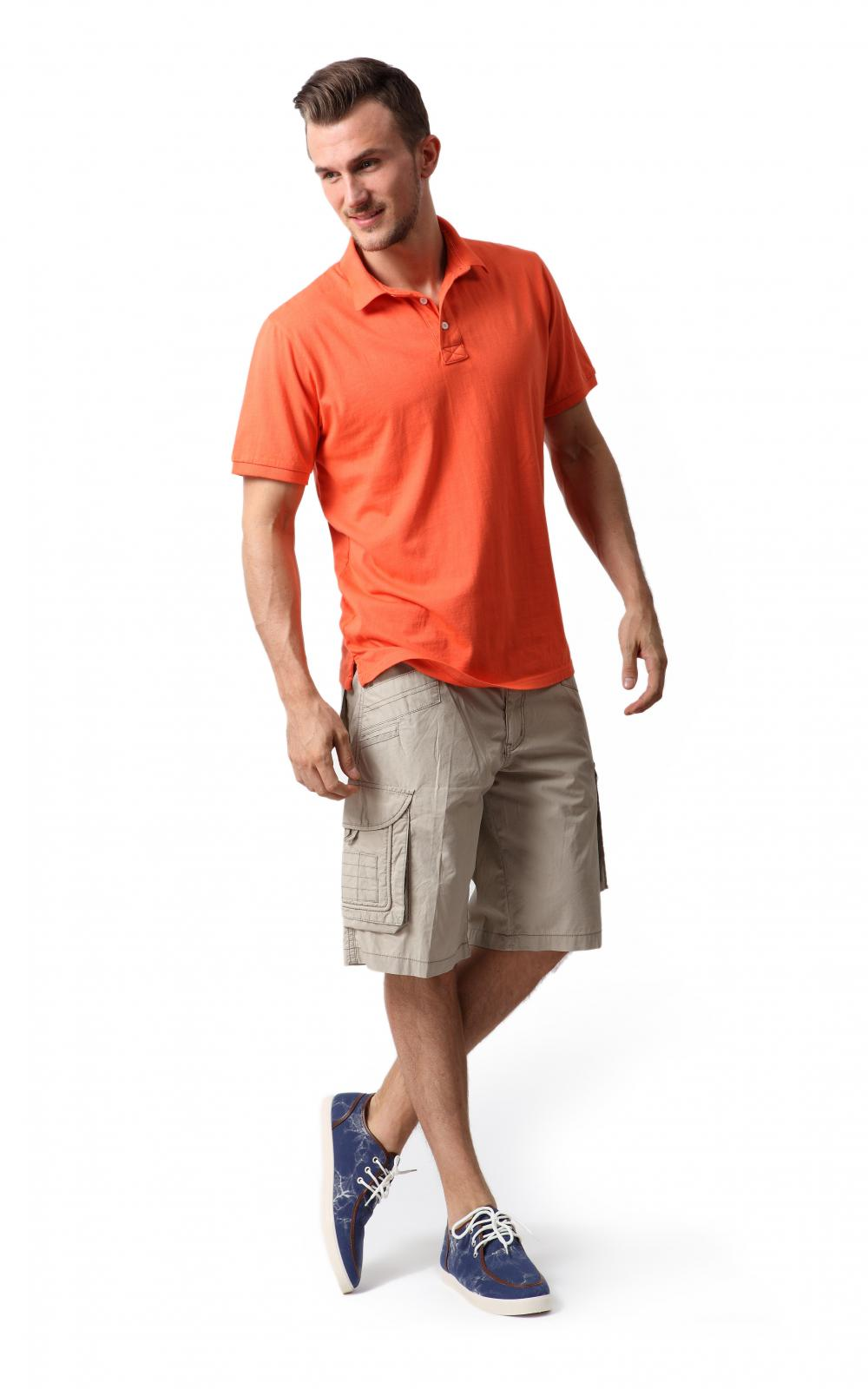 Men's patch pocket shorts