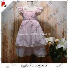 girls pink boutique remake embroidered dress