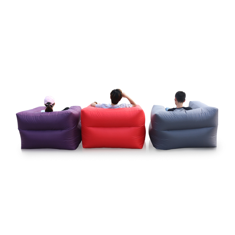 1Bedroom Inflatable Sleeping Bean Bag Arm Sofa