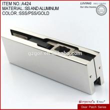 high quality bottom clamp glass door holder