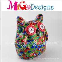 UK Wholesale Ceramics Production Owl Coin Bank