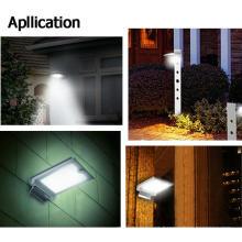 Lámpara de pared solar del jardín del sensor de movimiento de la energía