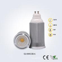 GU10 9W85-265V COB LED Spotlight