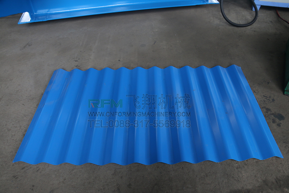 Ibr and Corrugated Metal Roof Sheet Making Machine