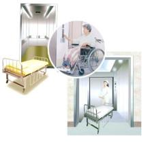 Shrh Grb 1000kg Assenseur Krankenhaus Bett Aufzug