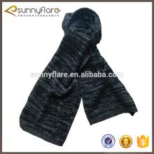 Bufanda de melange lisa de cachemira mongolia 100% pura