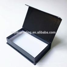 boîte-cadeau faite sur commande de papier d'emballage en carton imprimé avec la bande magnétique
