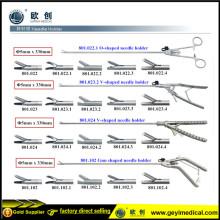 Wiederverwendbarer laparoskopischer Pistolennadelhalter mit CE-Zertifikat