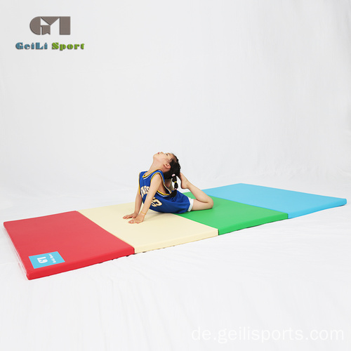 PU Faltgymnastikausrüstung Crash Mat For Gym