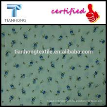 pequena floral impressão maquineta jacquard estilo algodão com elastano têm bom tecido elástico para o vestuário