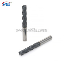 4 Flutes Solid Tungsten Carbide End Mills for Stainless Steel Cutting