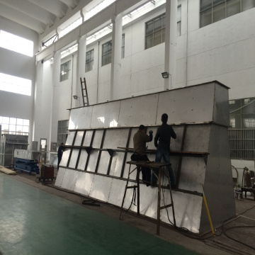 XF Horizontal Fluidizing Dryer used in barium azide