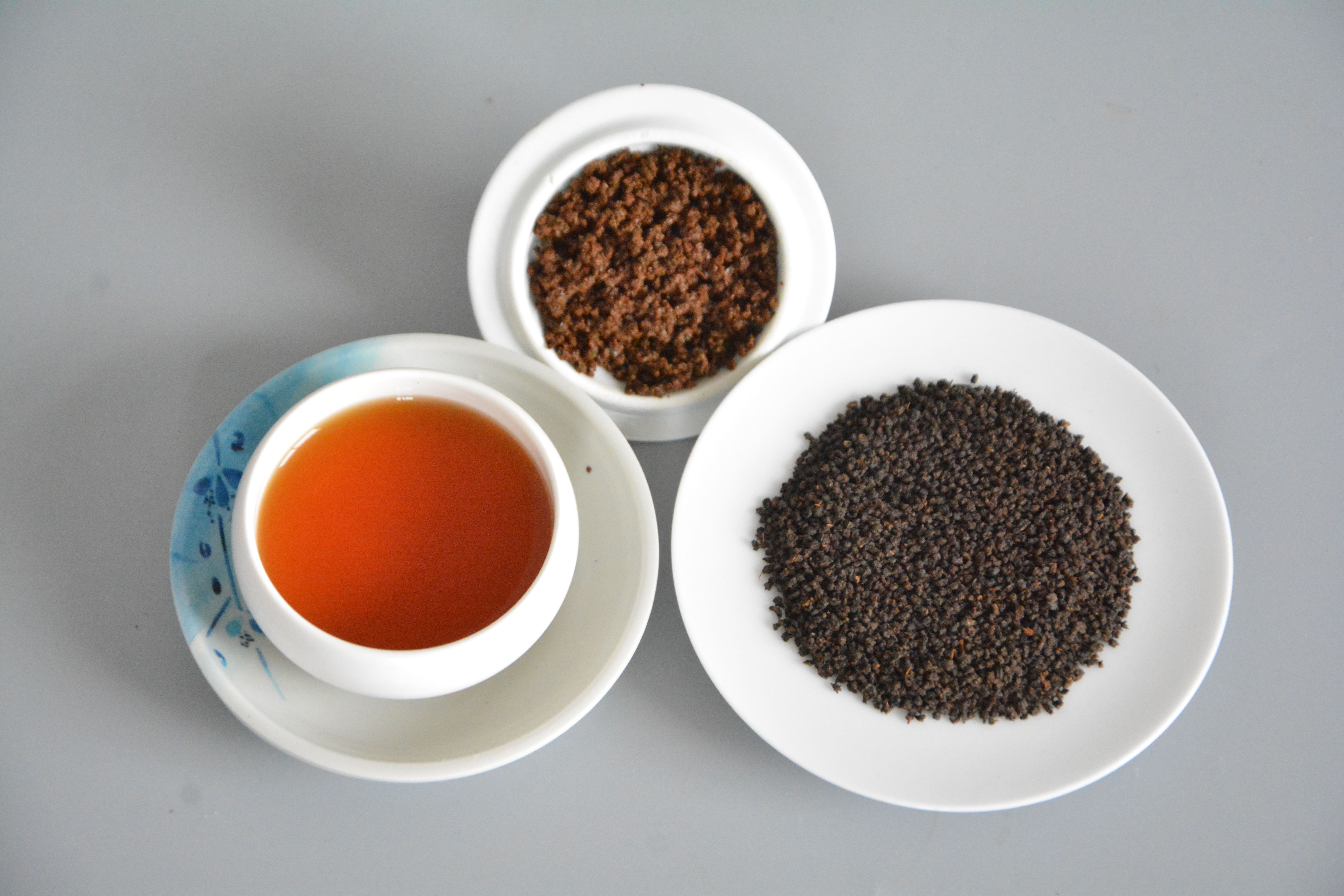 Regimen stomach black tea for health