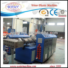 Perfil de PVC WPC línea de máquina del estirador de tornillo gemelo
