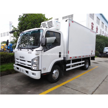 4X2 food transport ISUZU small refrigerated truck