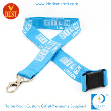 Customized Logo High Quality Card Holder Weave Lanyard for Sale From China as Gift