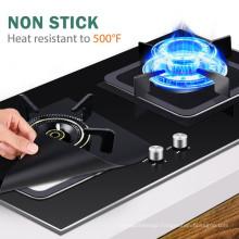 Custom reusable fireproof gas stove covers