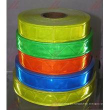 Cinta de PVC reflectante, cinta de advertencia de PVC reflectante