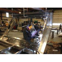 Low Cost Customized Sheet Metal Steel Fabrication Service