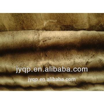 La piel de conejo lujosa de alta calidad de Fruffy arroja la manta grande