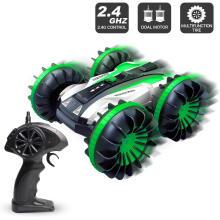 Volantex 2.4G Four wheel drive radio control toys car amphibious stunt vehicle