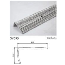 Anodised Silver Bright Aluminum Tile Trim