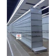 High Quality Chrome Metal Wire Supermarket Gondola Shelving Factory Price