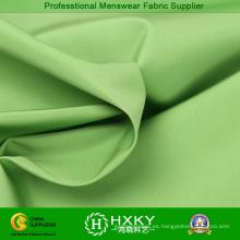 Tela de la memoria brillante de Color verde para chaquetas de moda para hombre