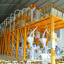 Maize Flour Milling Plant With Steel Structure